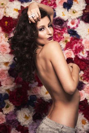 cau: Portrait of a beauty woman