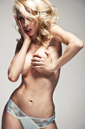 donna sexy: Donna bionda sexy