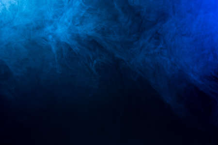 smoke: Abstract blue FogSmoke Texture Stock Photo