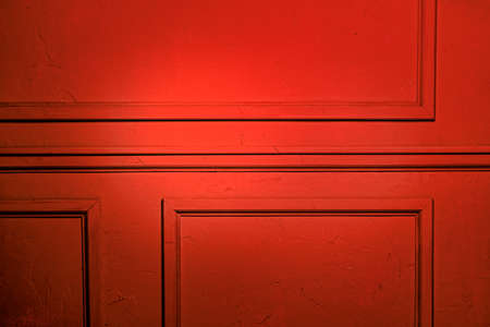 moulding: Simple classic style red interior