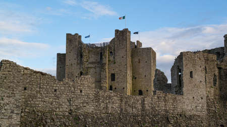 Medieval castle in Trim, County Meath, Ireland.