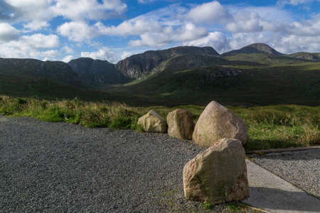 Derryveagh Mountains in Donegal, Co. Donegal, Ireland. Wild Atlantic Way.