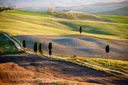 Tuscan Countryside, Italian landscape