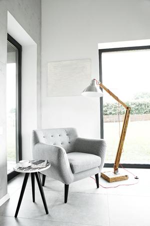 Fauteuil in de woonkamer