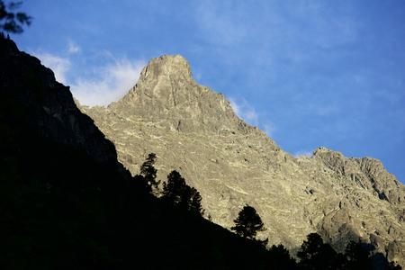 land slide: tatra mountains