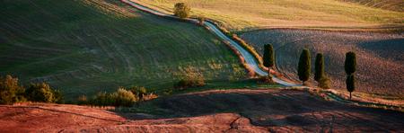 Toscaanse platteland, Italiaans landschap
