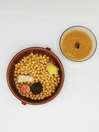 Cocido Madrile? ? o, typical food of Spain