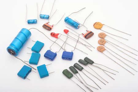 electrolytic: Condensadores