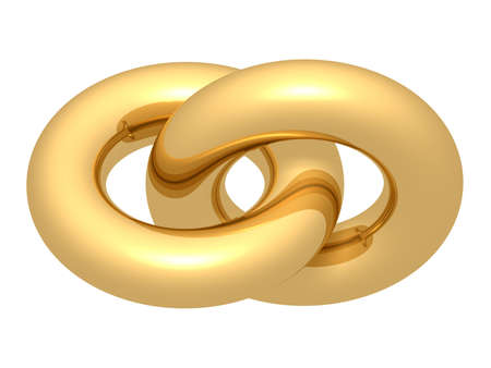 link love: Golden union Stock Photo