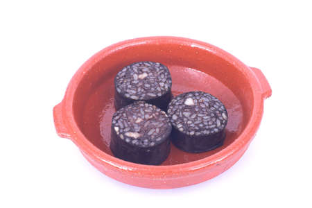 Blood sausage Stock Photo