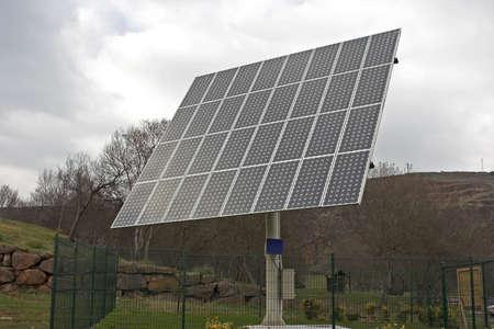 photoelectric: Solar panel
