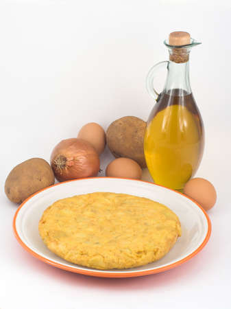 Potatoes omelette Stock Photo - 342039