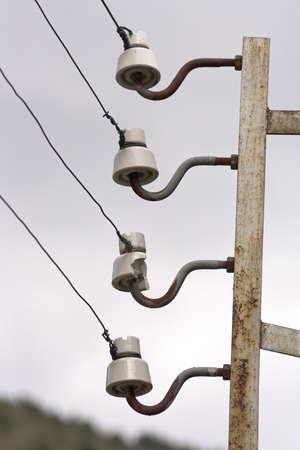 isolators: Old electric isolators