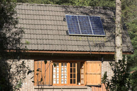 renewing: solar panel