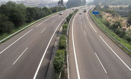 schlagbaum: Autobahn  Lizenzfreie Bilder