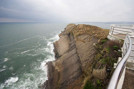viewpoint at Santander light house, Spain