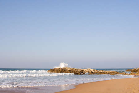 sea coast in a windy day, Cantabria , Spain Stock Photo - 2051929