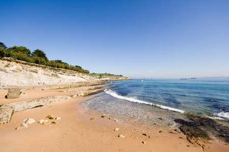 coastline, beach of Molinucos, Santander, Spain Stock Photo - 2147227