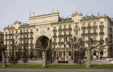 bank building of Santander Stock Photo - 3169913