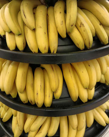 Bananas in a market