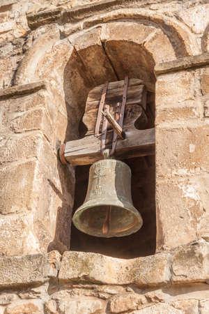 Romanesque bell in Liebana, Cantabria, Spain