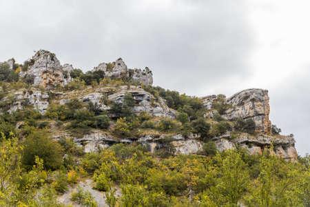 Karstic landscape in Burgos, Spain