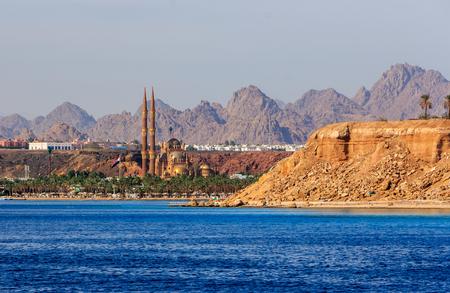 el sheikh: Sharm El Sheikh new mosque.