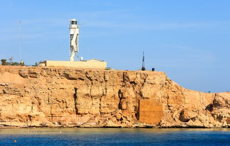 el sheikh: Lighthouse Sharm El Sheikh Stock Photo