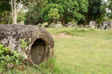 Plain of jars site: 3.  Laos. The Province Of Xiangkhoang.