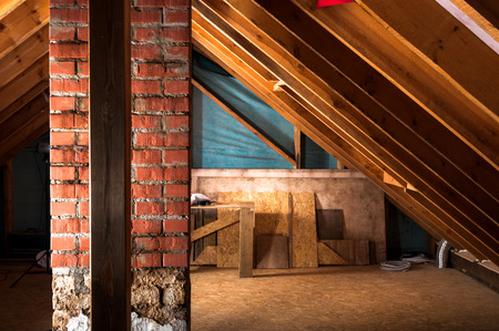 thermal insulation: attic renovation and thermal Insulation