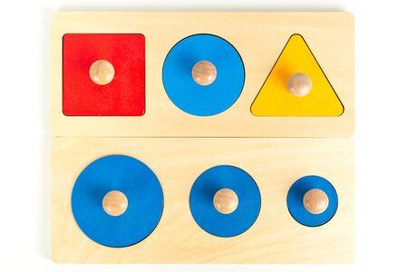 Montessori material for fine motor skills