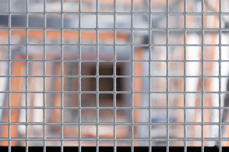 Graphic resources, close up of metal bars.