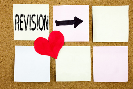 Conceptual hand writing text caption inspiration showing Revision concept for Repeat Repetition Education Material for Exam and Love written on wooden background, reminder  background with space