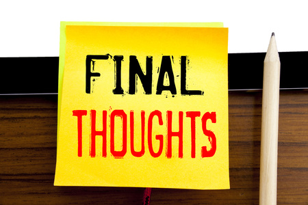 final thoughts stock photos royalty free final thoughts images