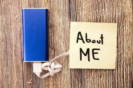 Autobiography of a person. Know more about someone. Getting information about people. Gathering data for certain goal. Sharing experiences with someone Stock Photo