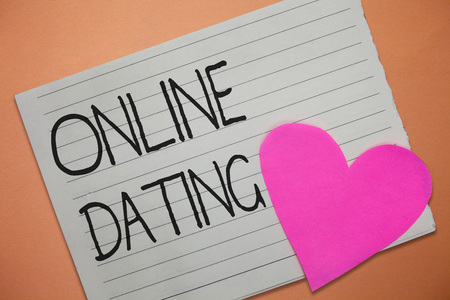 Word writing text Online Dating. Business concept for Searching Matching Relationships eDating Video Chatting.