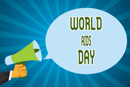 Word writing text World Aids Day. Business concept for 1st December dedicated to raising awareness of the AIDS.