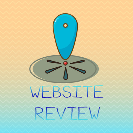 Conceptual hand writing showing Website Review. Business photo showcasing Reviews that can be posted about businesses and services.