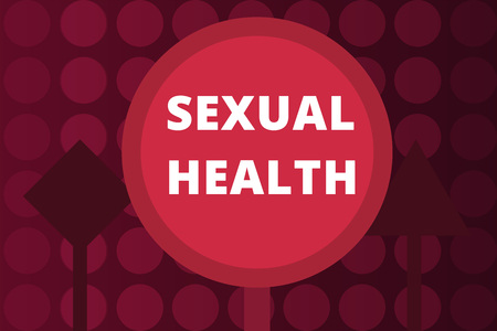 Word writing text Sexual Health. Business concept for Healthier body Satisfying Sexual life Positive relationships.