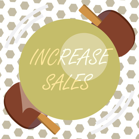 Word writing text Increase Sales. Business concept for Boosting the product sold to customers Trade Growth. Zdjęcie Seryjne