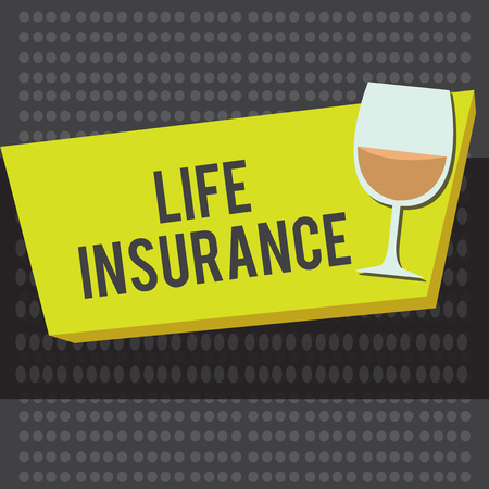 Word writing text Life Insurance. Business concept for Payment of death benefit or injury Burial or medical claim. Banque d'images