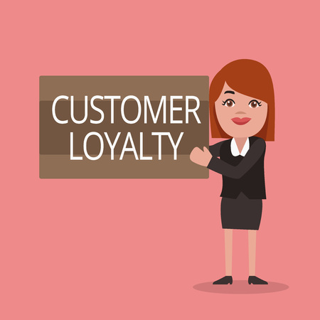 Conceptual hand writing showing Customer Loyalty. Business photo text result of consistently positive emotional experience.