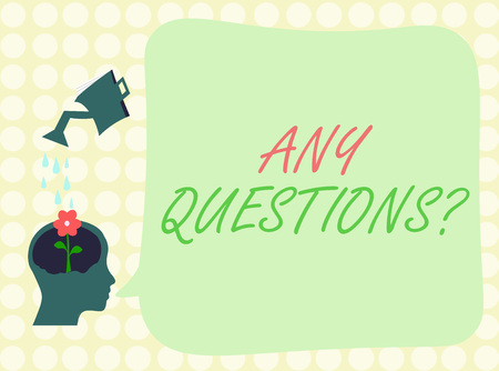 Koncepcyjne pismo ręczne pokazujące wszelkie pytania. Prezentacja zdjęcia biznesowego Prośba o zapytanie Przesłuchanie Wyjaśnienie.