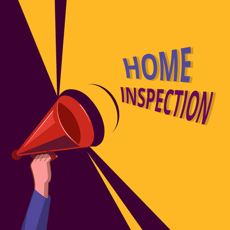 Conceptual hand writing showing Home Inspection. Business photo showcasing Examination of the condition of a home related property. Stockfoto