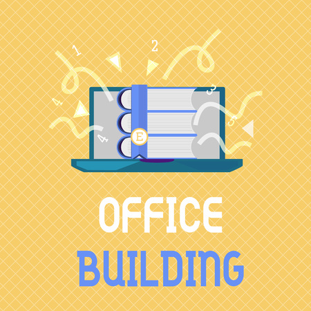 Word writing text Office Building. Business concept for Commercial buildings are used for commercial purposes.