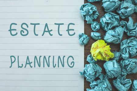 Conceptual hand writing showing Estate Planning. Business photo text The management and disposal of that persons estate.