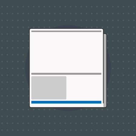 Flat design business Vector Illustration Empty copy space for Ad website promotion esp isolated Banner template. White Board Memoramdum Layout Informing of Meeting Forum Notification Vectores