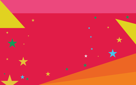 Flat design business Vector Illustration concept Empty copy space modern abstract background Geometric element. Starry Pattern of Scattered Little Stars like Colorful Confetti in the sky Иллюстрация