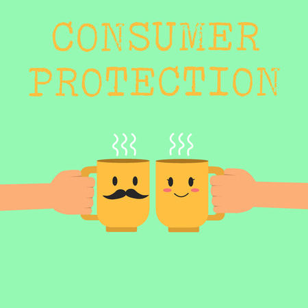 Word writing text Consumer Protection. Business concept for Fair Trade Laws to ensure Consumers Rights Protection.