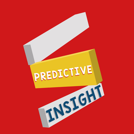 Writing note showing Predictive Insight. Business photo showcasing Proactive Fault Management System an Early Detection.